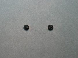 Swarovski kristályos gömb fülbevaló