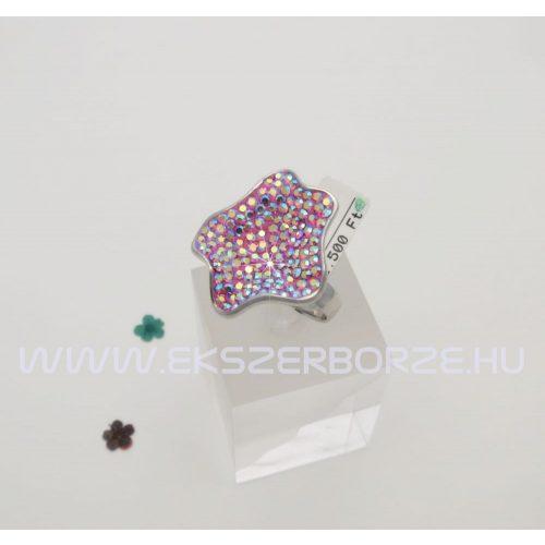Különleges Swarovski kristályos gyűrű