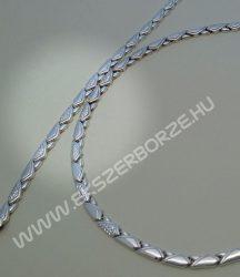 Gyémánt-metszett nyakék-karlánc