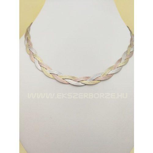 Aranyozott ezüst nyakék