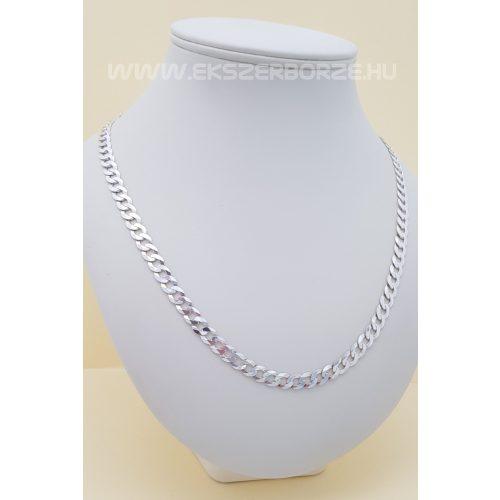 Tömör pancer férfi ezüst nyaklánc