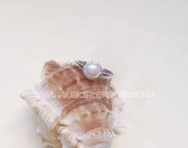 Édesvizi tenyésztett gyöngyös gyűrű