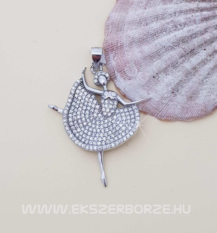 Ezüst balerina medál - Ékszerbörze 7bcfda1bb7