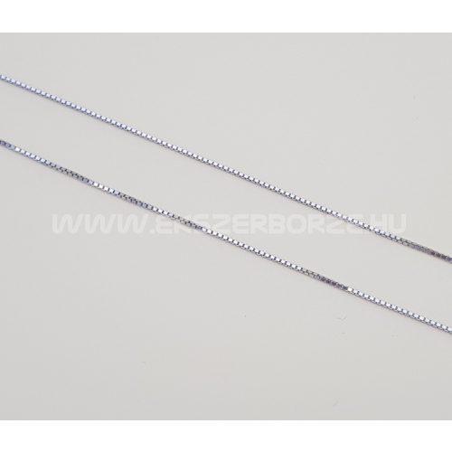 Velencei (kocka) ezüst nyaklánc