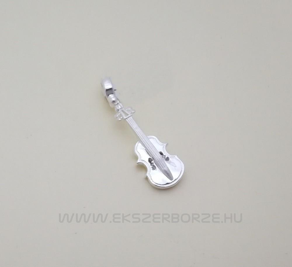 Ezüst hegedű medál - Ékszerbörze 1810662dec