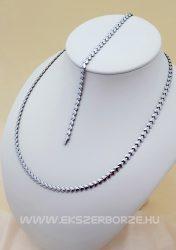 Szíves ezüst nyaklánc