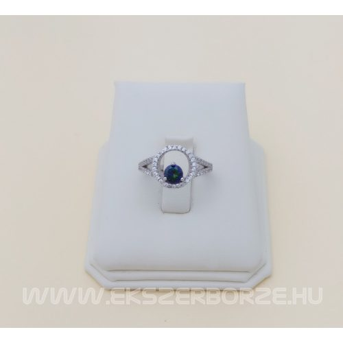 Mistic topázos női ezüst gyűrű