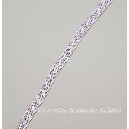 Fonott aranyozott ezüst karkötő
