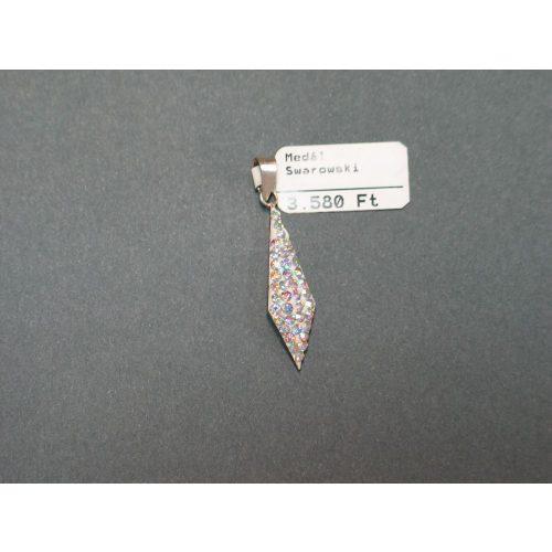 Swarovski kristályos ezüst medál