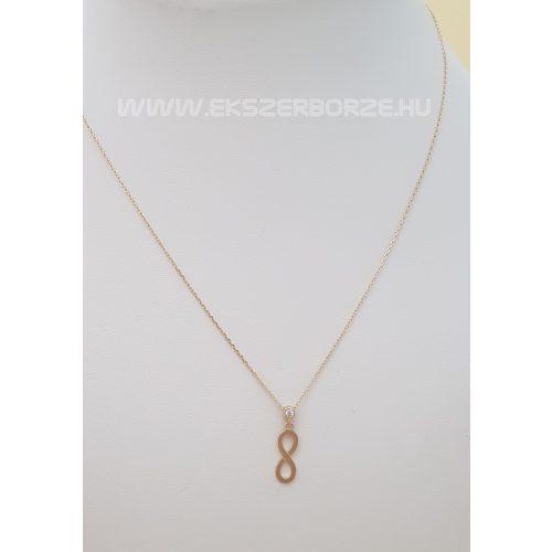 Végtelen medálos arany nyaklánc