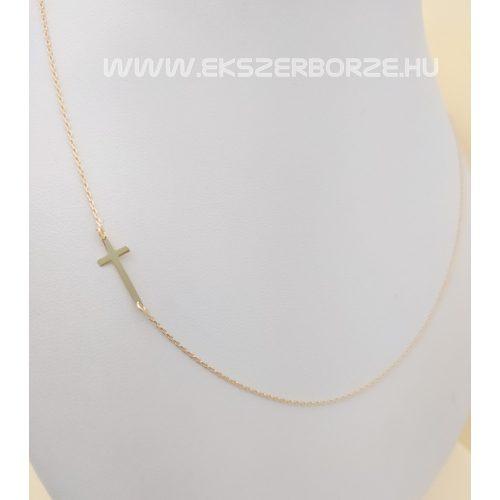 Keresztes arany nyaklánc