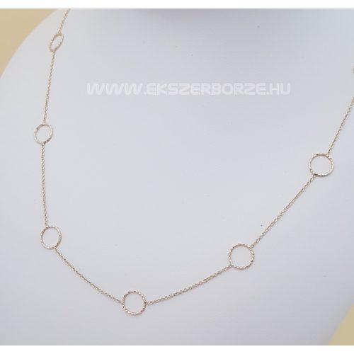 Divatos női arany nyaklánc