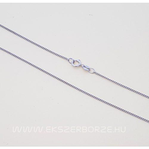 Vékony fehérarany lánc