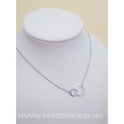 Geometriai elemmel díszített nyaklánc