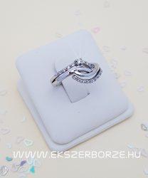 Köves női arany gyűrű 8