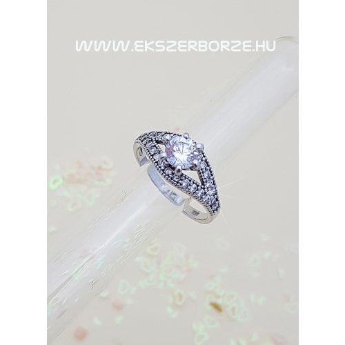 Fehérarany eljegyzési gyűrű10