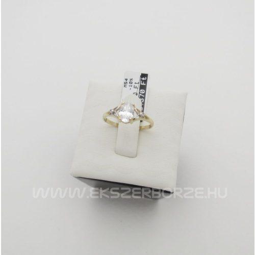 Egy köves női arany gyűrű