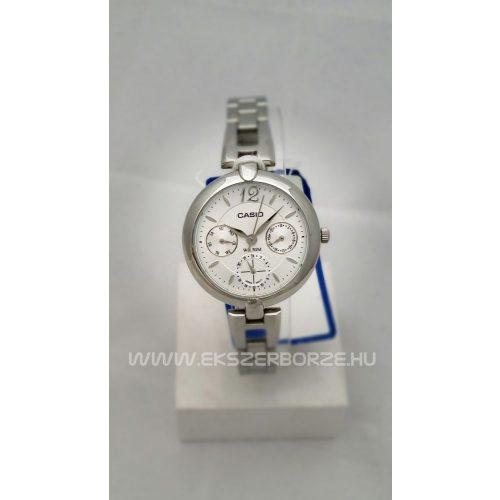 LTP-E401D-7A Ezüstszínű casio női óra