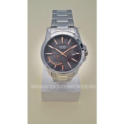MTP-E102D-8A Casio férfi óra rozé arany indexekkel
