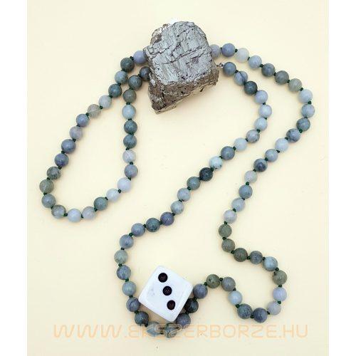 Jade nyaklánc-karkötő szett
