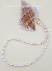 Édesvízi tenyésztett igazgyöngy nyaklánc