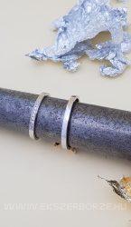 Fehérarany köves karikagyűrű