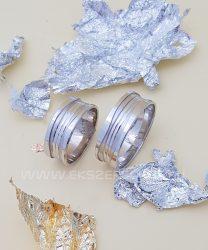 Fehérarany karikagyűrű kő nélkül
