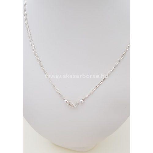 Különleges női ezüst nyaklánc