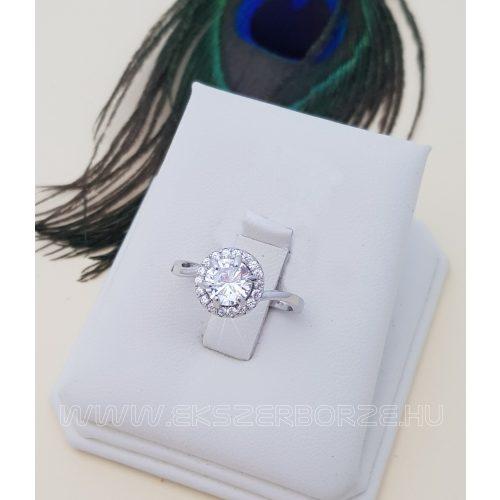 Ezüst eljegyzési gyűrű