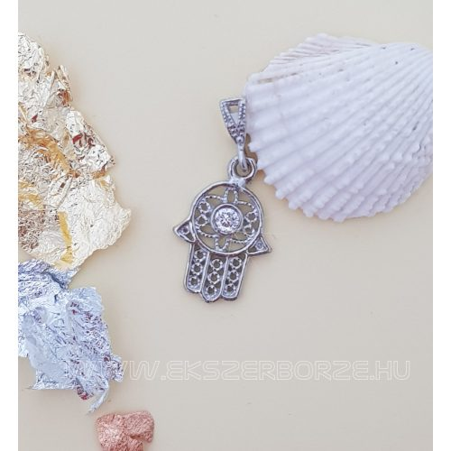 Fatima keze ezüst medál