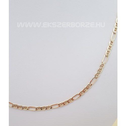 Hidalt figaro férfi arany nyaklánc