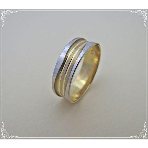 Fehérarany különleges karikagyűrű